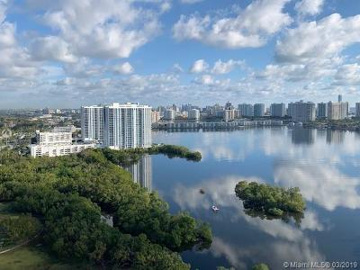 North Miami Beach Condo For Sale: 16385 Biscayne Blvd #2807