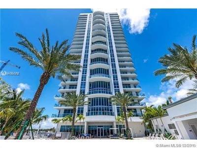 North Miami Beach Rental For Rent: 17301 Biscayne Blvd #1201
