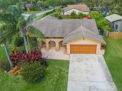 Coconut Creek Single Family Home For Sale: 3947 NW 22nd St