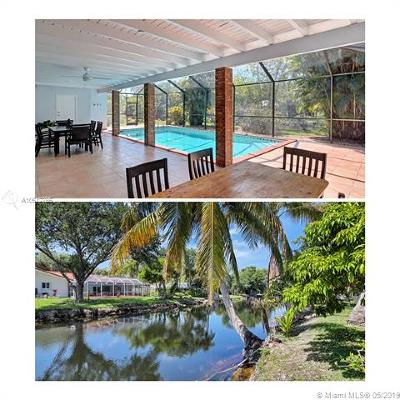 Palmetto Bay Single Family Home For Sale: 7860 SW 141st St
