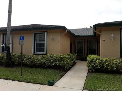 Lake Worth Condo For Sale: 3166 Via Poinciana #7