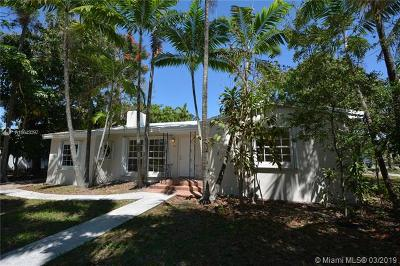 El Portal Single Family Home For Sale: 495 NE 89th St