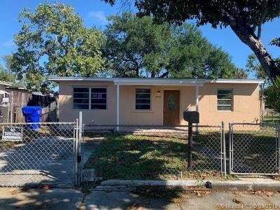West Park Single Family Home For Sale