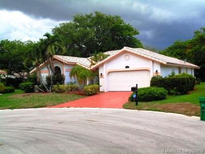 Coral Springs Single Family Home For Sale: 1950 Oakmont Ter