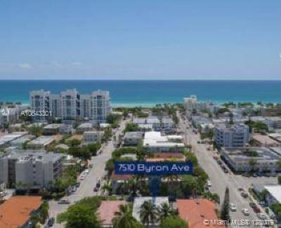 Miami Beach Multi Family Home For Sale: 7510 Byron Ave