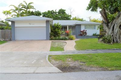Miami Single Family Home For Sale: 8261 N Bayshore Dr