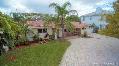 Pompano Beach Single Family Home For Sale: 2500 SE 13th St