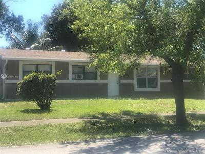 Fort Lauderdale Single Family Home For Sale: 3600 NW 7 Street