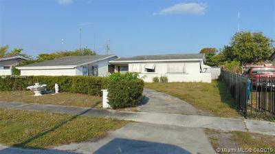 Miami Gardens Single Family Home For Sale: 20141 NW 12th Ct