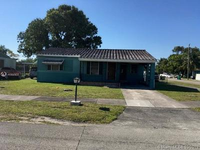 Miami Single Family Home For Sale: 3030 NW 99th St