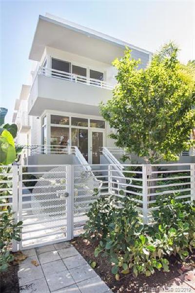 Miami Beach Condo For Sale: 619 Meridian Ave #1