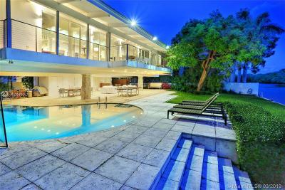 Key Biscayne Single Family Home For Sale: 110 Cape Florida Dr