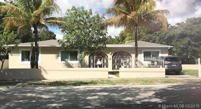 North Miami Single Family Home For Sale: 12790 NE 12th Ave