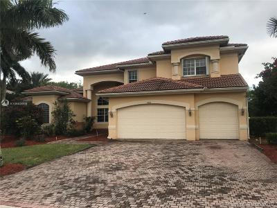 Davie Single Family Home For Sale: 11406 Canyon Maple Blvd