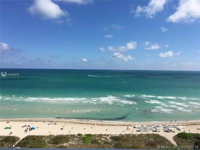 Miami Beach Condo For Sale: 2457 Collins Ave #1603