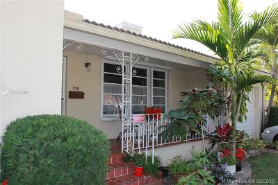 Miami Single Family Home For Sale: 520 SW 27th Rd