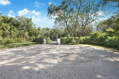 Coral Gables Rental For Rent: 8110 Old Cutler Rd