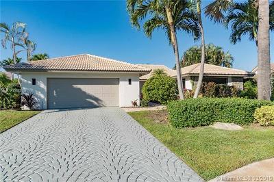 Delray Beach Single Family Home For Sale: 16852 Silver Oak Ct
