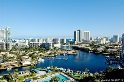 Hallandale Condo For Sale: 600 Three Islands Blvd #1812
