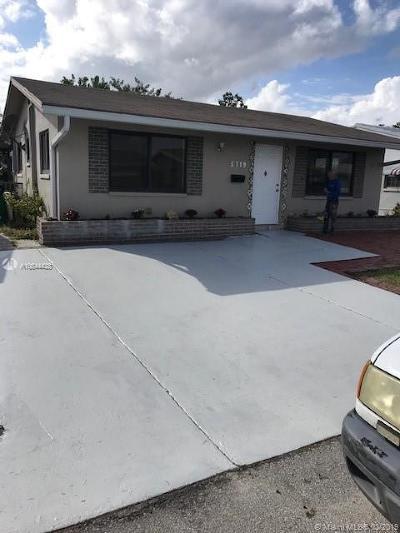 Tamarac Single Family Home For Sale: 5719 NW 65 Avenue