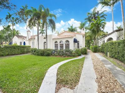Coral Gables Single Family Home For Sale: 1132 Obispo Ave