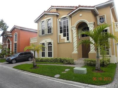 Doral Single Family Home For Sale: 5184 NW 108th Pl
