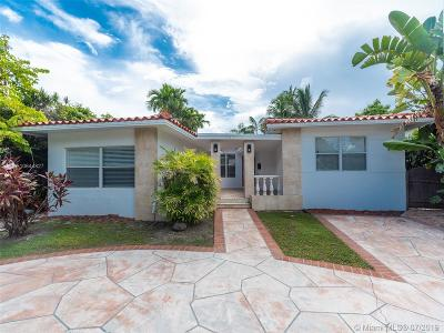 Surfside Single Family Home For Sale: 8927 Byron Ave