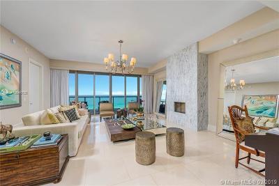 Aventura, Bal Harbour, Bay Harbor Islands, Coconut Grove, Coral Gables, Miami Beach, Pinecrest, South Miami, Sunny Isles Beach, Surfside, Williams Island Condo For Sale: 9705 Collins Ave #802N