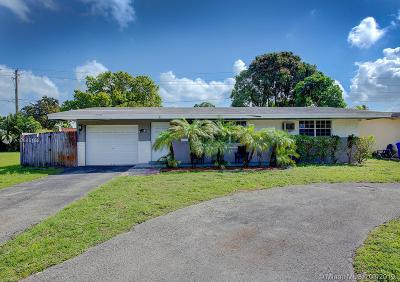 Pembroke Pines Single Family Home Sold: 1561 NW 81st Ave