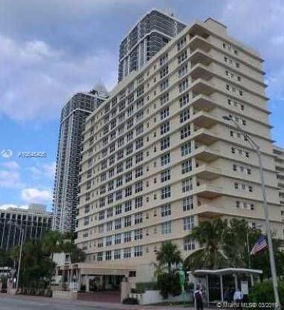 Miami Beach Condo For Sale: 4747 Collins Ave #1014