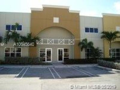 Sweetwater Commercial For Sale: 1835 NW 112th Ave #182