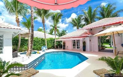 Boca Raton Single Family Home For Sale: 20118 Ocean Key