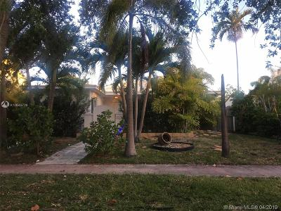 Miami Beach Single Family Home For Sale: 1519 Biarritz Drive