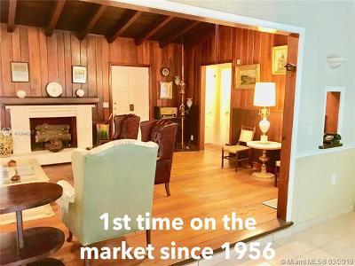 North Miami Single Family Home For Sale: 1166 NE 131 St