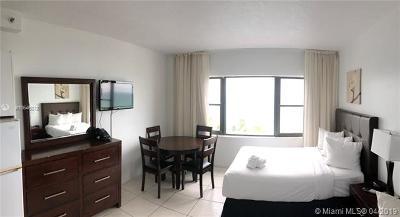 Miami Beach Rental Pending Sale: 6345 Collins Ave #807