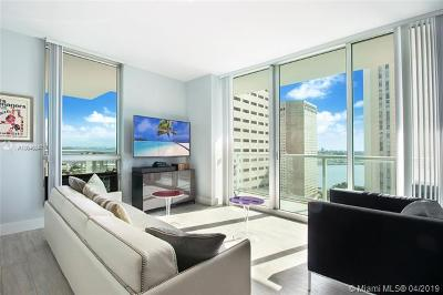 Miami-Dade County Condo For Sale: 300 S Biscayne Blvd #T-1916