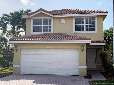 Sunrise Single Family Home Sold: 9397 NW 55th St