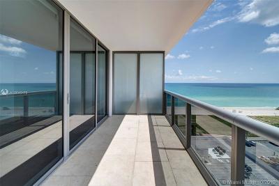 Miami Beach Condo For Sale: 5875 Collins Ave #1506