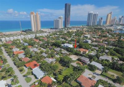 Sunny Isles Beach Single Family Home For Sale: 261 189th Ter