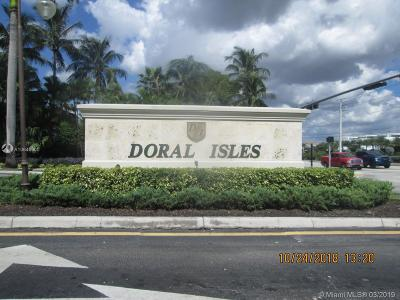 Doral Condo Sold: 10770 NW 66th St #212