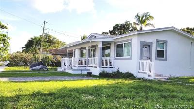 West Miami Single Family Home For Sale: 6206 SW 10th Terrace