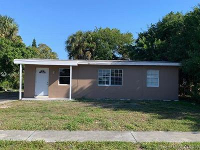 Lauderhill Single Family Home For Sale: 3641 NW 4th St