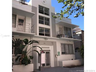Miami Beach Condo For Sale: 818 Pennsylvania Ave #5