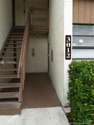 Coral Springs Condo For Sale: 3012 N Coral Ridge Dr #112B
