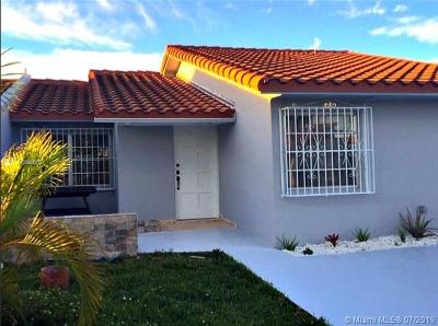 Sweetwater Single Family Home For Sale: 11542 SW 5th St