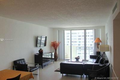 Miami Beach Condo For Sale: 1500 Bay Rd #1262S