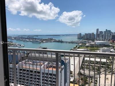 Opera Tower, Opera Tower Condo, Opera Towers Rental Leased: 1750 N Bayshore Dr. #5008