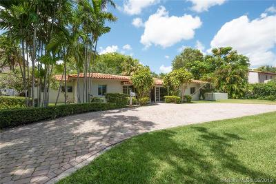 Coral Gables Single Family Home For Sale: 3211 Riviera Dr