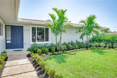 Fort Lauderdale Single Family Home For Sale: 2714 Coral Shores Dr