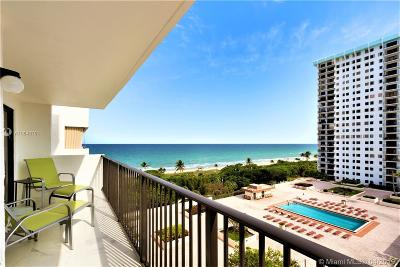 Hollywood Condo For Sale: 1201 S Ocean Dr #1005N